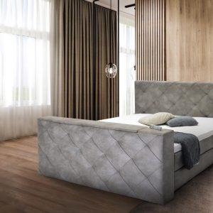 Boxspring suite Vlak 180x200 Relax Met Tv lift