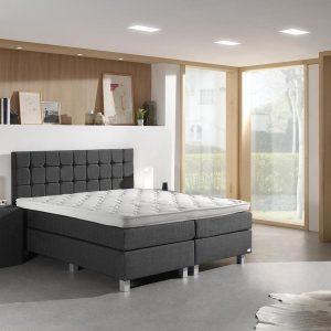 Dreamhouse Istanbul Comfort Boxspring - Boxspring - Pocketvering - 180x200 - Antraciet