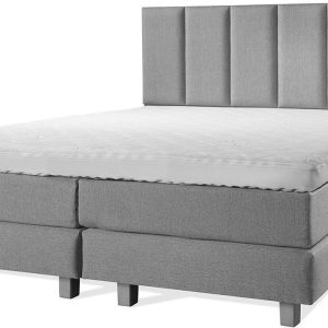 Luxe Boxspring 140x200 Compleet Grijs