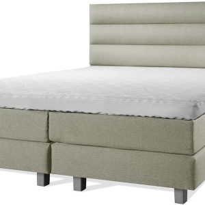 Luxe Boxspring 140x200 Compleet Groen