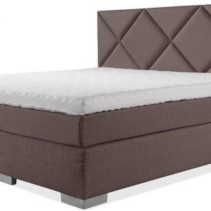 Luxe Boxspring 180x200 Compleet Bruin Suite