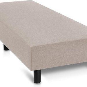 Boxspring Premium - 80x200cm - Beige Stof -