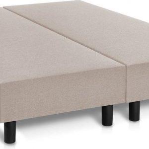 Boxspring boxen Premium 120x200 Beige zonder matras