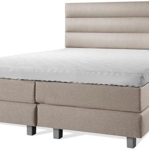 Luxe Boxspring 180x210 Compleet Beige