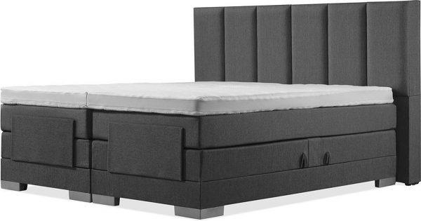 Luxe Boxspring 180x210 Elektrische Antracite Suite