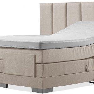 Luxe Boxspring 200x210 Elektrische Beige Suite