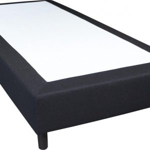 Slaaploods.nl Basic - Boxspring exclusief matras - 120x210 cm - Zwart