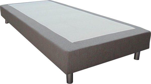 Slaaploods.nl Basic - Boxspring exclusief matras - 70x210 cm - Grijs