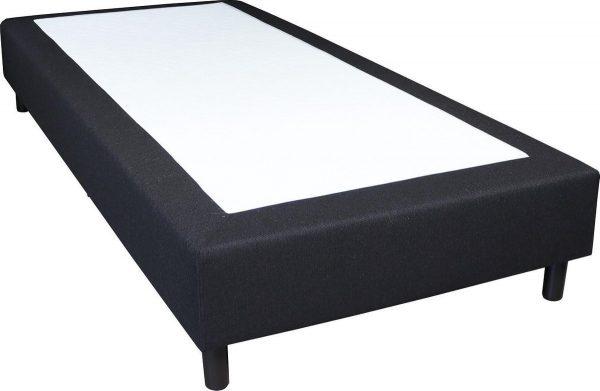 Slaaploods.nl Basic - Boxspring exclusief matras - 70x210 cm - Zwart