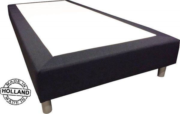 Slaaploods.nl Basic - Boxspring exclusief matras - 70x220 cm - Beige