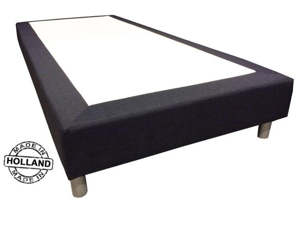 Slaaploods.nl Basic - Boxspring exclusief matras - 70x220 cm - Zwart
