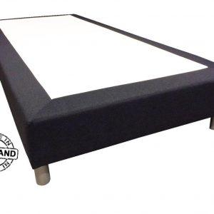 Slaaploods.nl Basic - Boxspring exclusief matras - 80x220 cm - Zwart