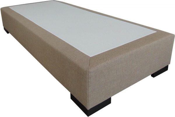 Slaaploods.nl Deluxe - Boxspring exclusief matras - 70x200 cm - Beige