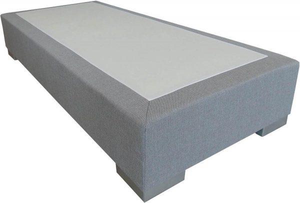 Slaaploods.nl Deluxe - Boxspring exclusief matras - 70x210 cm - Grijs