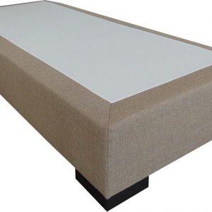 Slaaploods.nl Deluxe - Boxspring exclusief matras - 80x220 cm - Beige
