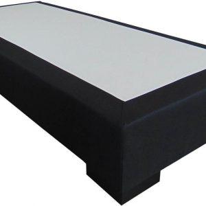 Slaaploods.nl Deluxe - Boxspring exclusief matras - 90x210 cm - Zwart