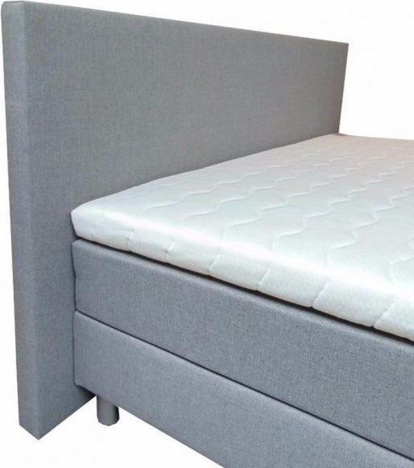 Slaaploods.nl Praag - Boxspring inclusief matras - 180x210 cm - Grijs