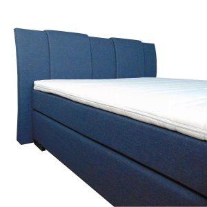 Slaaploods.nl Zeus - Boxspring inclusief matras - 180x210 cm - Blauw