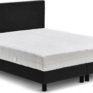 Beter Bed Ambra Complete Boxspring met Silver Pocket Deluxe Foam Matras - 120x200 cm - Zwart