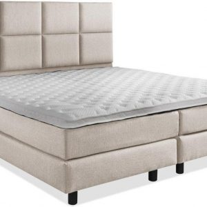 Boxspring Luxe compleet Beige 140x220