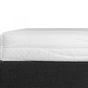 Boxspring Student Basic Zwart - 140x220 cm - Comfort Foam Matras