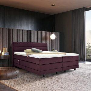 Boxspring suite Vlak 200x200 purple