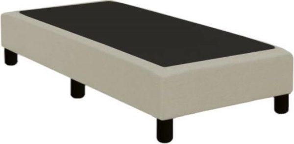 Boxspring verend 70 x 200 cm | stof Inari beige 22 | zonder matras