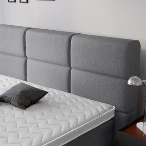 Complete Luxe Boxspring - Geneve - Dreamhouse - 160x200 - Grijs - Twee persoons - Bed