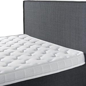 Complete Opbergboxspring 140x200 cm - Pocketvering matrassen - Dreamhouse Alta - Twijfelaar bed met opbergruimte