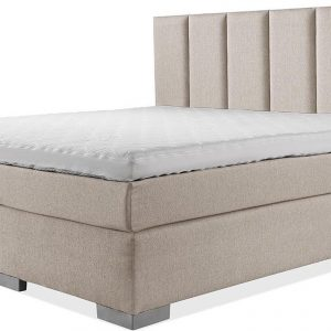 Luxe Boxspring 140x220 Compleet Beige Suite