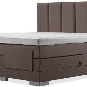 Luxe Boxspring 140x220 Elektrische Bruin Suite