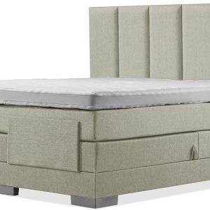 Luxe Boxspring 140x220 Elektrische Groen Suite
