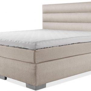 Luxe Boxspring 160x210 Compleet Beige Suite