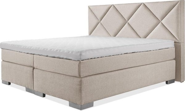 Luxe Boxspring 160x220 Compleet Beige Suite