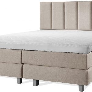 Luxe Boxspring 200x200 Compleet Beige