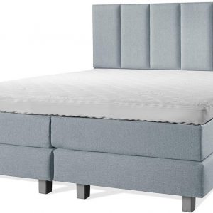 Luxe Boxspring 200x200 Compleet Blauw