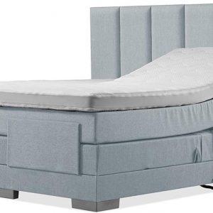 Luxe Boxspring 200x220 Elektrische Blauw Suite