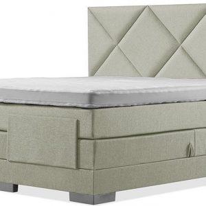 Luxe Boxspring 200x220 Elektrische Groen Suite