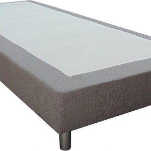 Slaaploods.nl Basic - Boxspring exclusief matras - 120x220 cm - Grijs