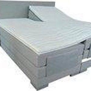 Slaaploods.nl Cool - Elektrische Boxspring inclusief matras - 160x200 cm - Grijs