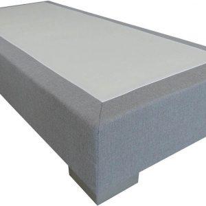 Slaaploods.nl Deluxe - Boxspring exclusief matras - 120x220 cm - Grijs