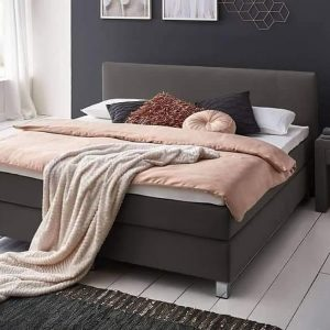 Boxspring Miracle 160x200 Antraciet