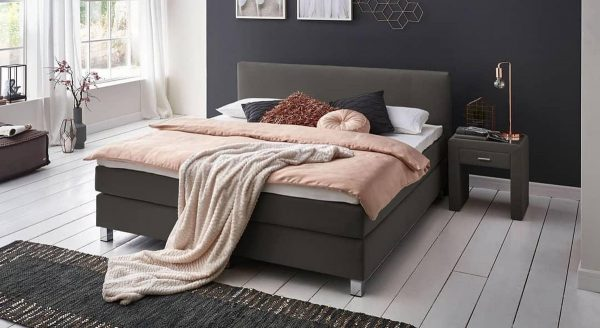 Boxspring Miracle 180x200 Antraciet