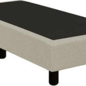 Boxspring verend 60 x 200 cm | stof Inari beige 22 | zonder matras