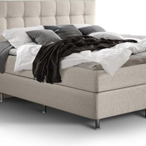 Complete Luxe Boxspring - Zurich - Dreamhouse - 160x200 - Beige - Twee persoons - Bed