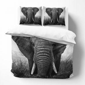 DLC Elephantry Lits-jumeaux (240 x 220 cm + 2 kussenslopen) Dekbedovertrek