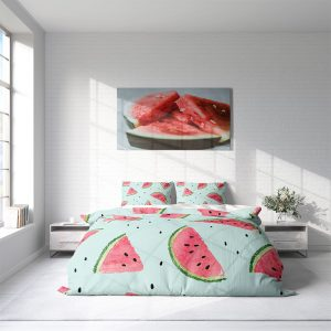 DLC Watermelon Lits-jumeaux (240 x 220 cm + 2 kussenslopen) Dekbedovertrek