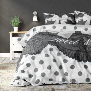 DreamHouse Bedding Romance Silver Lits-jumeaux (240 x 220 cm + 2 kussenslopen) Dekbedovertrek
