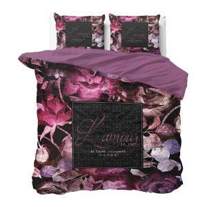 DreamHouse Bedding Vintage Amour - Zwart Lits-jumeaux (240 x 220 cm + 2 kussenslopen) Dekbedovertrek