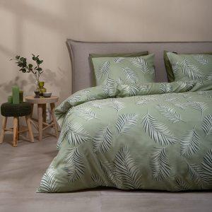 Fresh & Co Botanical Leaves Lits-jumeaux (240 x 220 cm + 2 kussenslopen) Dekbedovertrek